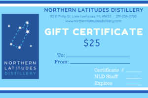 $25 NLD Gift Certificate